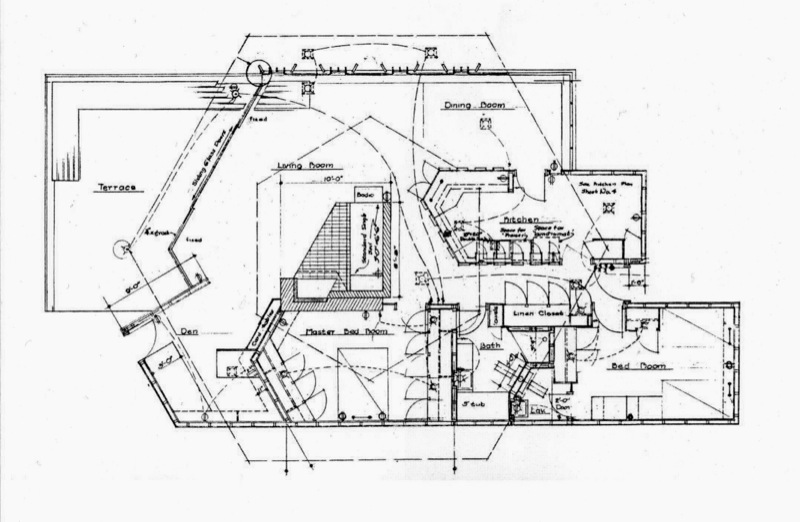 John Lautner Jacobsen House Floor Plan - Parson Architecture: The Blog