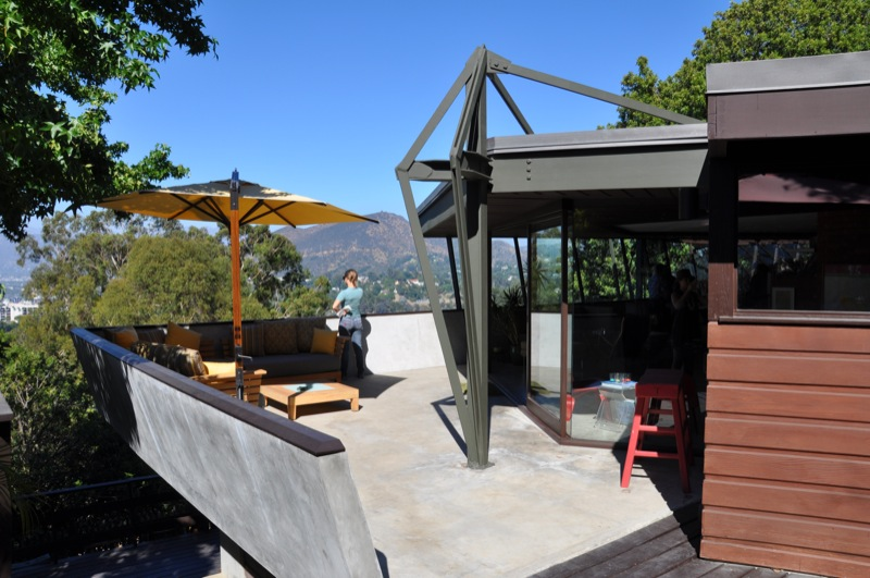 John Lautner Jacobsen House Patio - Parson Architecture: The Blog